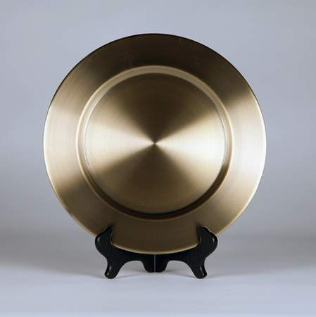 "Charger 11.5"" Metal Bronze"