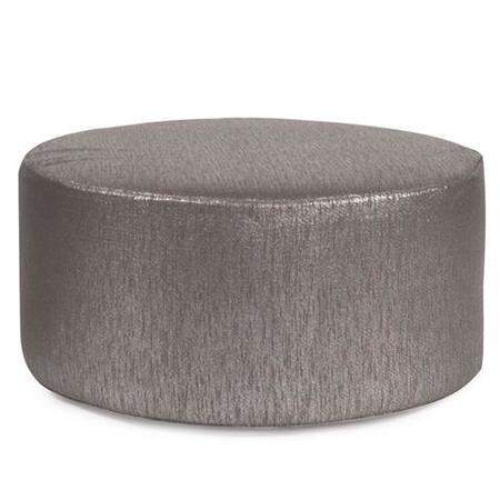 Ottoman Round Silver Rentals Rental Furniture For Events