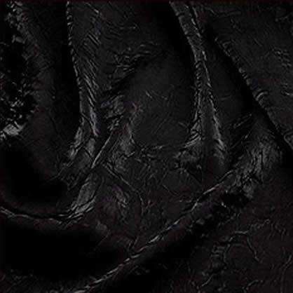 """Iridescent Crush Black 90"""" x 156"""""""