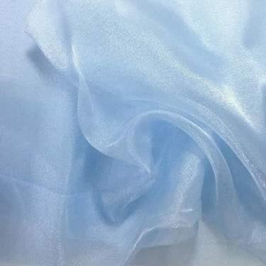 Blue Ice Sheer Organza Table Linen