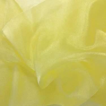 Maize Sheer Organza Table Linen