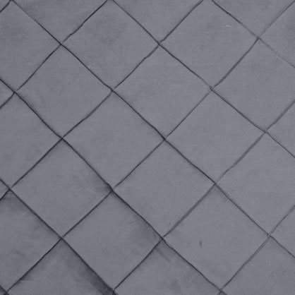 "Pintuck - Silver 54"" x 114"""