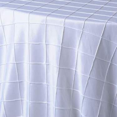 Pintuck - White
