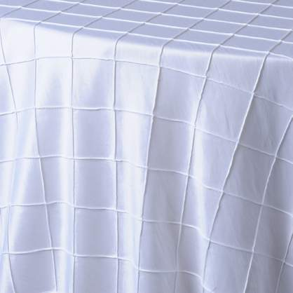 "Pintuck - White 54"" x 114"""