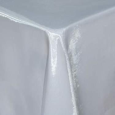 White Sheer Organza Table Linen