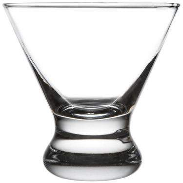 Stemless Martini Glass 8oz