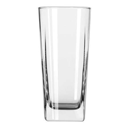 Square Beverage Glass 16oz