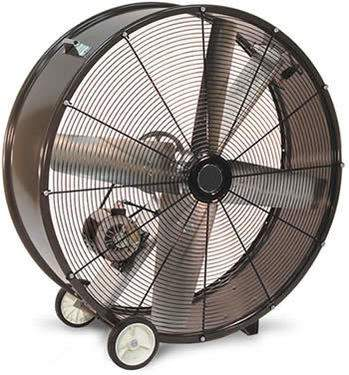 Heat Buster Barrel Fan 42""