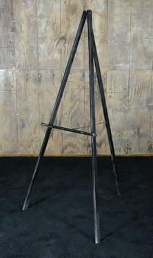 Easel Black Wood