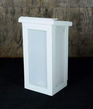 Podium Modern White