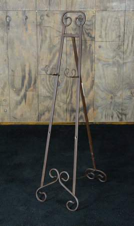Easel Wrought Iron