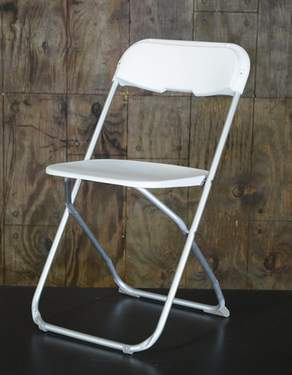 White Alloy Chair