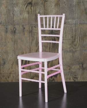 Pink Chiavari Children's Chair