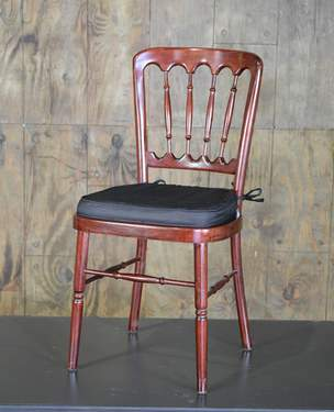Mahogany Presidential Chair