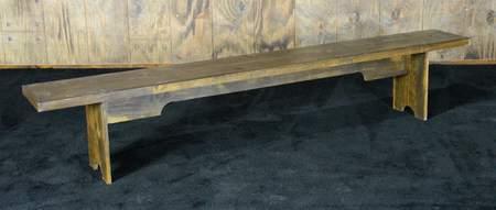 Fruitwood Vineyard Bench 8'