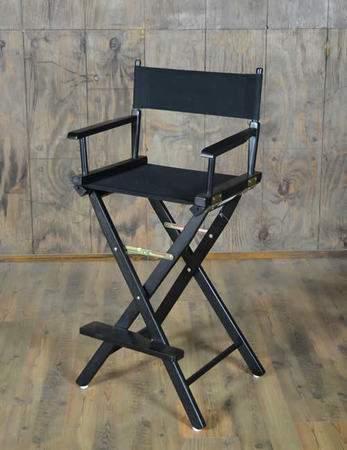 Directoru0027s Chair Black