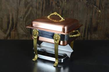 Chafer Square Copper & Brass 4qt