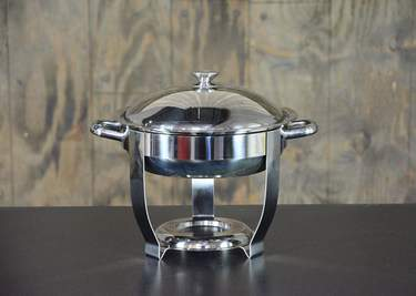 Chafer Round Stainless 4qt