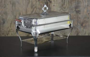 Chafer Stainless Ornate Rectangular 8qt