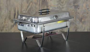 Chafer Stainless Rectangular 8qt