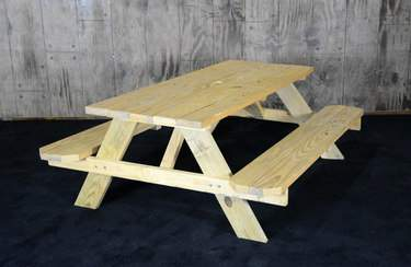 Picnic Table Natural 6'
