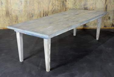 "Driftwood Vineyard Table - 8'x40"" Bar Height"