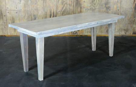 """Driftwood Vineyard Table - 6'x30"""" Seating Height"""