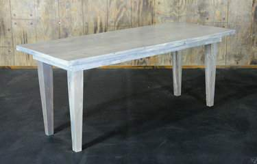 "Driftwood Vineyard Table - 6'x30"" Seating Height"