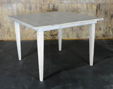 """Driftwood Vineyard Table - 72"""" Square Bar Height"""