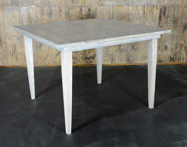 "Driftwood Vineyard Table - 72"" Square Bar Height"