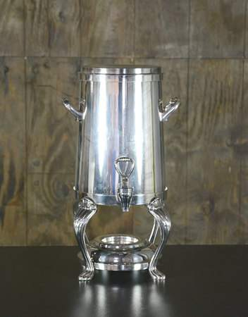 Silver Straight Coffee Urn 40 Cup