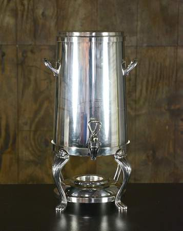 Silver Straight Coffee Urn 80 Cup