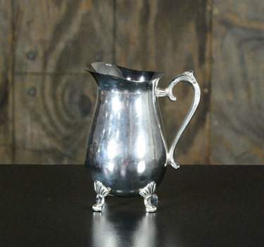 Silver Pitcher 64oz