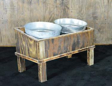 Beverage Trough Stand 2