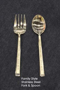Stainless Steel Family Style Serving Fork