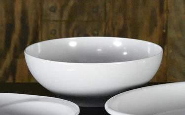 "White Melamine Bowl - 14"" Round Bowl"