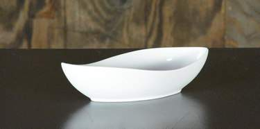 White Canoe Bowl 12""