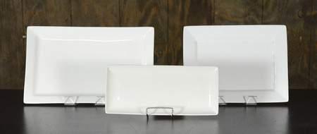 """Rectangular White Platters - 11""""x17"""" Tray"""