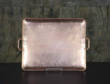 "Copper Tray 18""x22"""