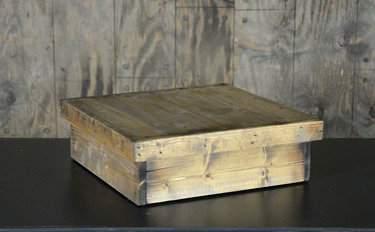 Rustic Wood Cake Riser