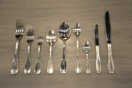 York Silver Dessert Spoon
