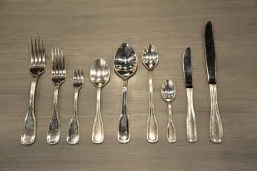 York Silver Dinner Fork