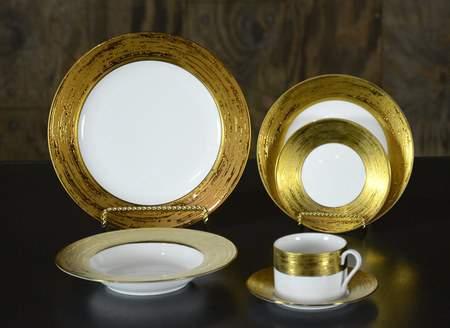 Galaxy Gold China - Salad Plate