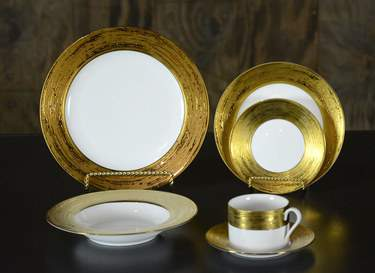 Galaxy Gold China - Coffee Saucer