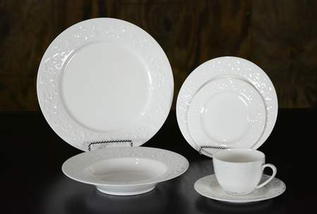 Abigail White China - Salad Plate