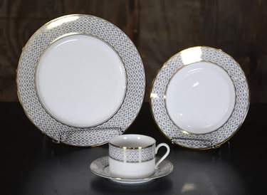 Marcella Gold China - Coffee Saucer