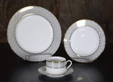 Marcella Gold China - Salad Plate