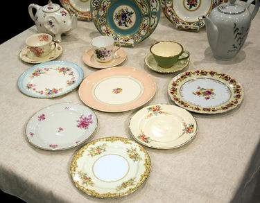 Queen Ann's China - Soup Plate