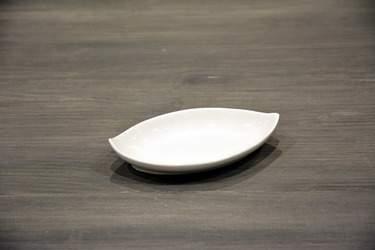 White Ceramic Amuse-Bouche Plates - Tidbit Plate
