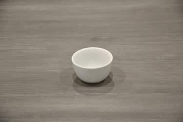 White Ceramic Amuse-Bouche Plates - Creme Pot